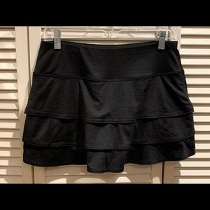 Athlete black swing skirt.  Size small